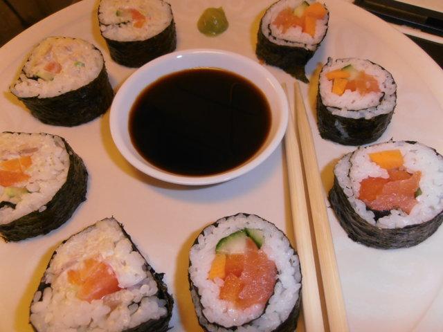 Reseptikuva: Sushi (makirulla) 2