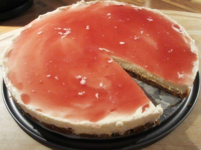 Reseptikuva: Gatzupin joulunmakuinen juustokakku 1