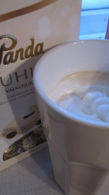 white peppermint mocha kahvi 1