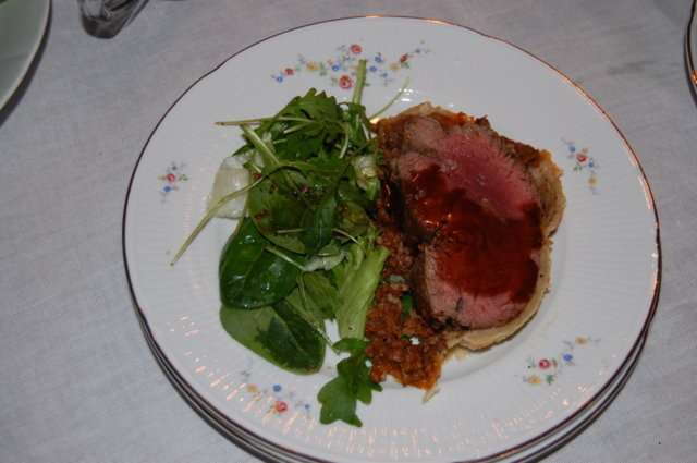 Beef Wellington / Inbakad oxfilé