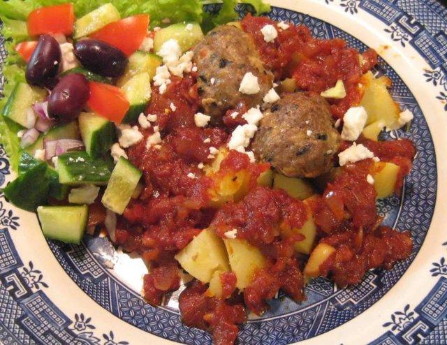 Reseptikuva: Jauhelihasienipullat & tomaattikastike 1