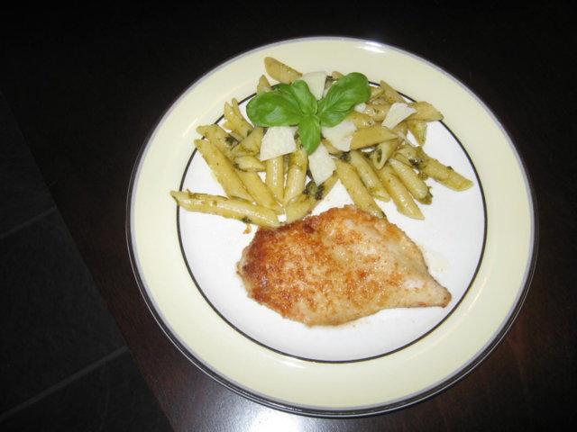 Reseptikuva: Parmesanbroileri ja pasta 2