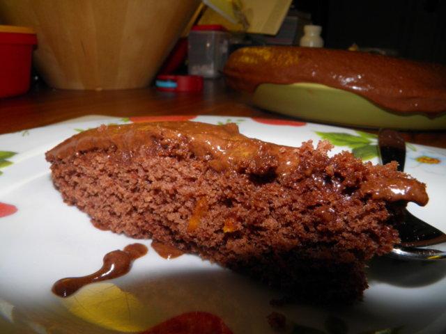 Suklaa-appelsiini-moussekakku 2
