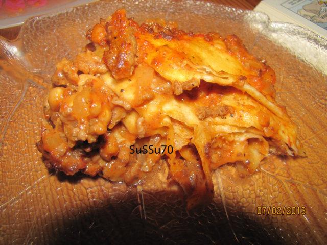 Reseptikuva: Tortillalasagne 2