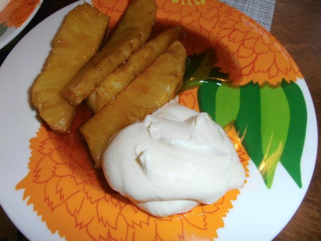 Reseptikuva: Liekitetty ananas 1