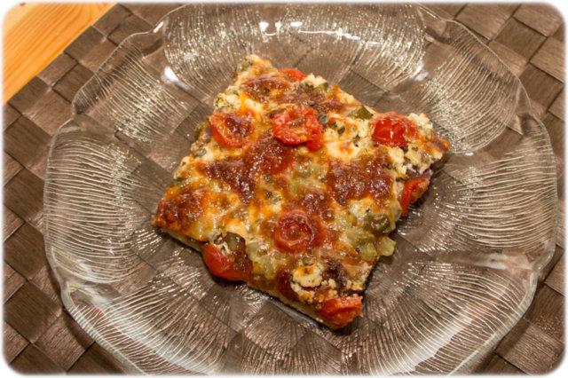 Reseptikuva: Soijapizza 1