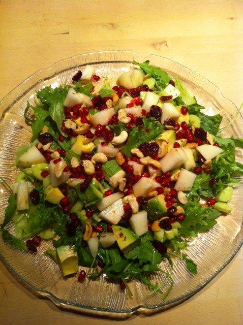 Hedelmäinen salaatti ( vegaani )
