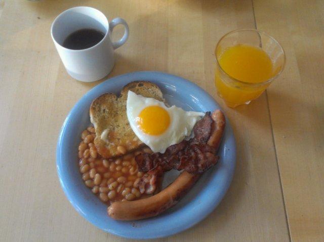Englantilainen aamupala 3
