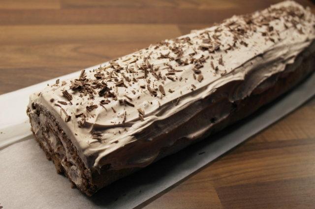 Suklaa Kääretorttu