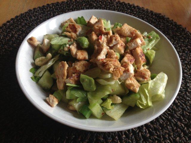 Reseptikuva: Avocado-kanasalaatti 1