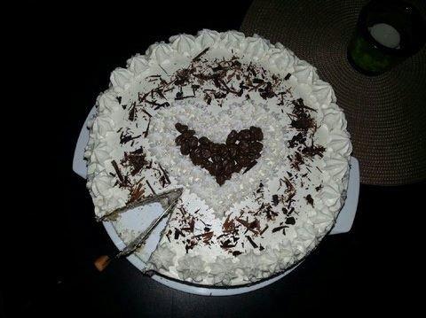 Suklaa-mascarpone kakku