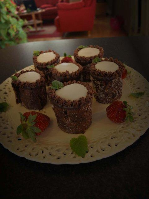 Reseptikuva: Italialaiset suklaaleivokset 1
