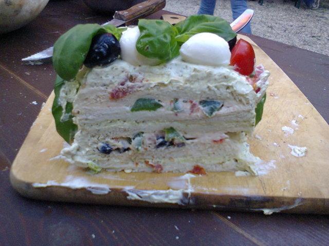 Italialainen Voileipäkakku (ilman majo)