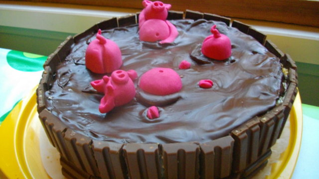 Possut Paljussa -kakku