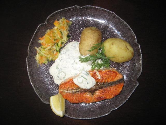 Kermaviilikastike kalalle 2