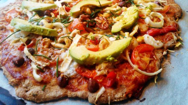Rapsakka ja raikas pizza 1