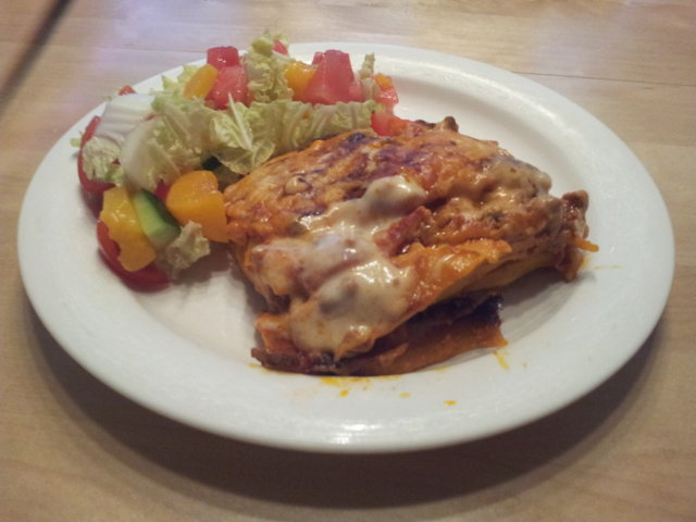 Koskenlaskija lasagne