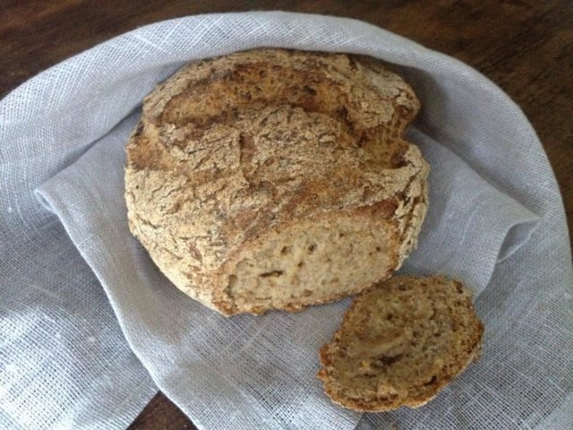 Reseptikuva: Tosimartan gluteeniton hapanleipä 1