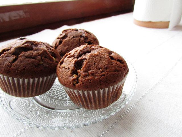 Reseptikuva: Amerikkalaiset suklaamuffinssit 1