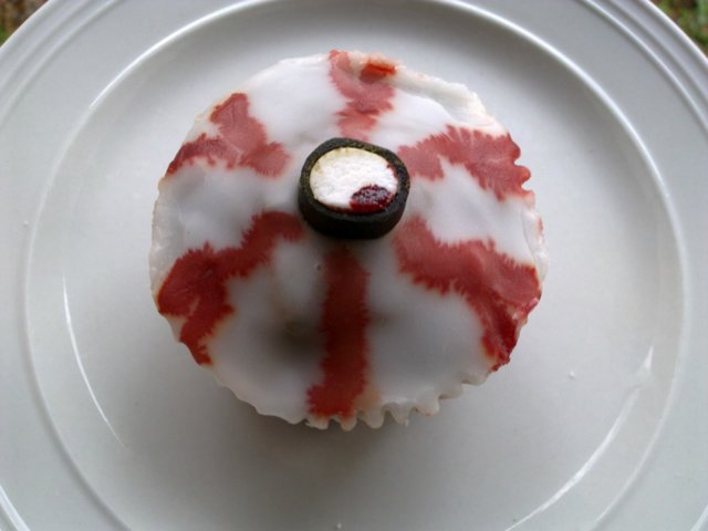 Daimmuffinssi Silmät (Halloween-muffinssi) 2