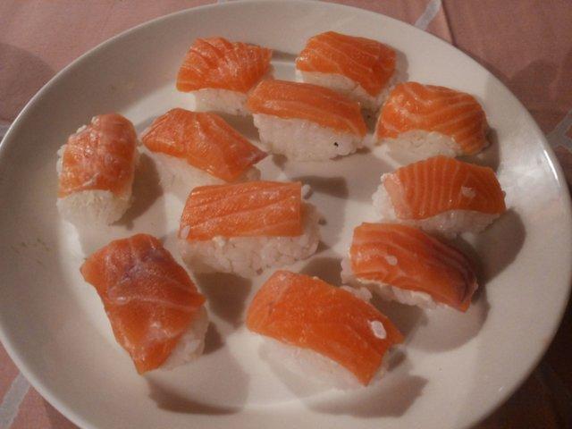 Reseptikuva: Sushi - rullat & nigiri 2