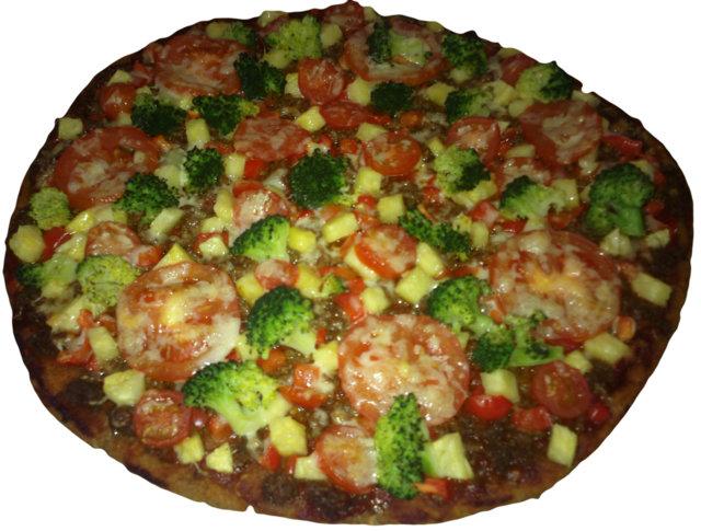 Eetun herkullinen ruispohjainen pizza 1