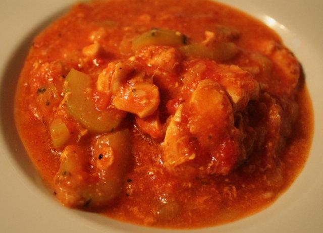 Tomaattinen broilerimuhennos (vhh) 1