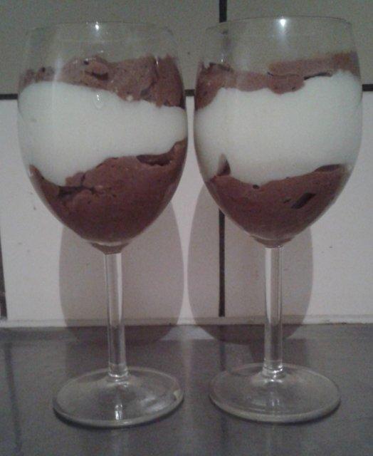 Kahden suklaan mousse 1