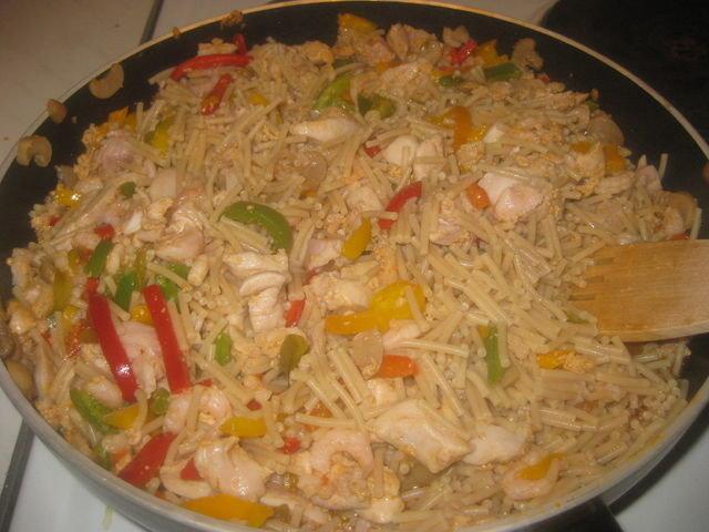 Spaghettinen kanapata 1