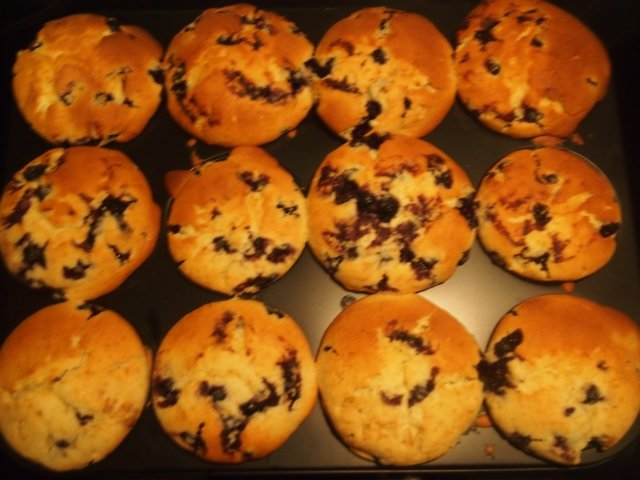 mustikkamuffinssit 3