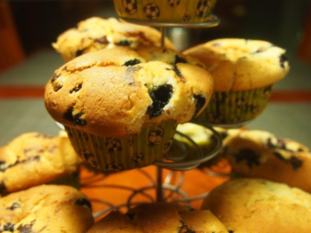 mustikkamuffinssit 1