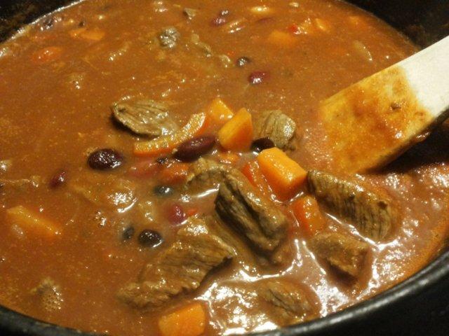 Mehevä Chili con carne