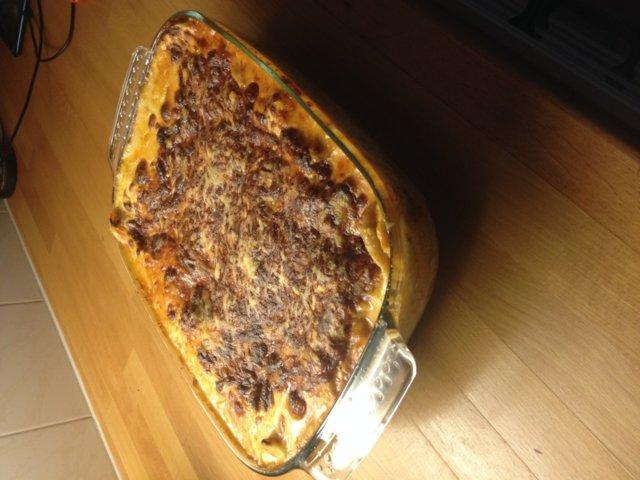 Reseptikuva: Sairaan hyvä lasagne 1