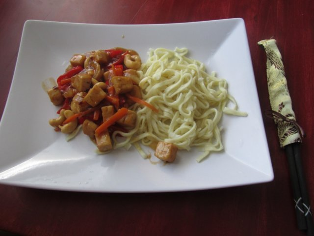 Kung Po -tofu 1