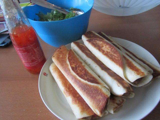 Rapeat tortillakääröt
