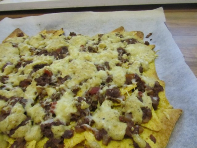Nachos Plate (veg)