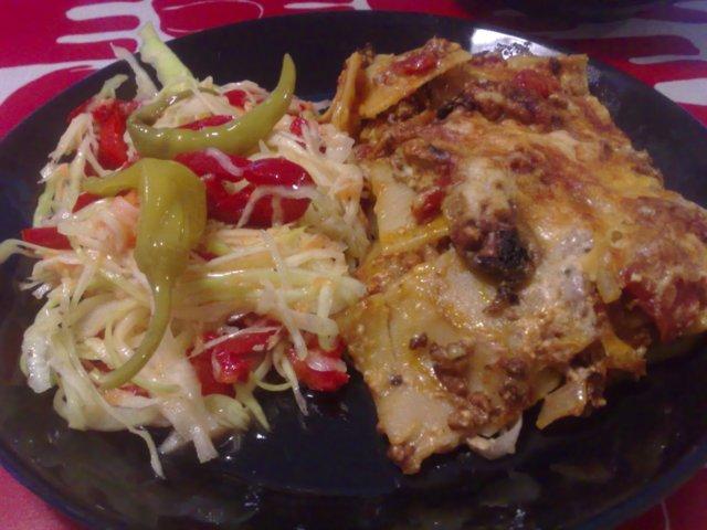 Vehnätön lasagne