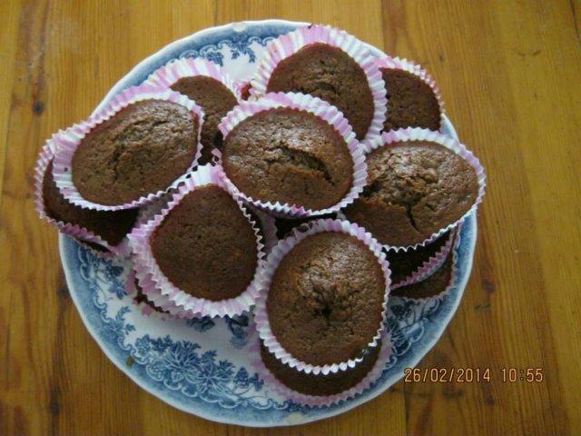 Suklaamuffinssit helppoa ja nopeaa tehdä 1