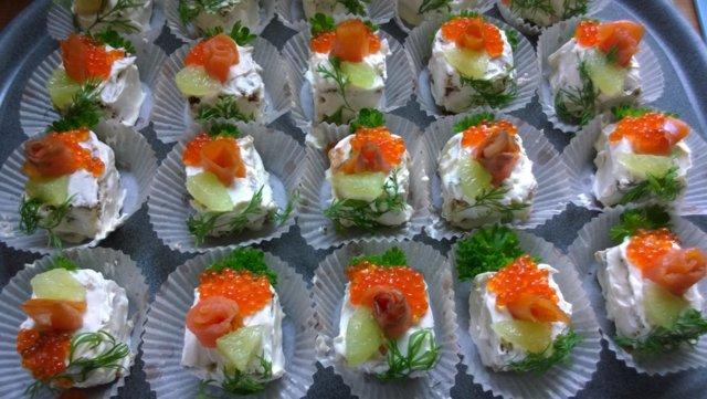 Reseptikuva: Kala-voileipäkakkuleivos 1