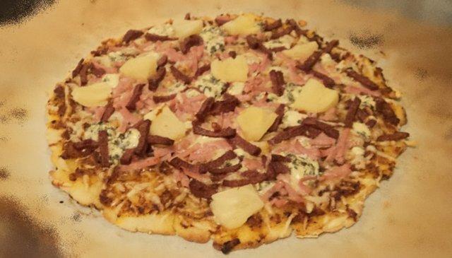 Paras gluteeniton pizza! 1