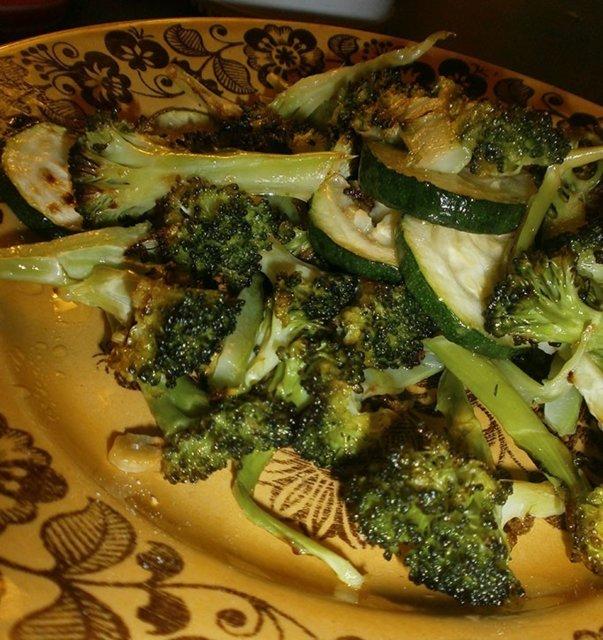 Reseptikuva: Paahdettua parsakaalia 1