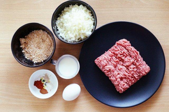Japanilainen, mehevä jauhelihapihvi (helppo versio)