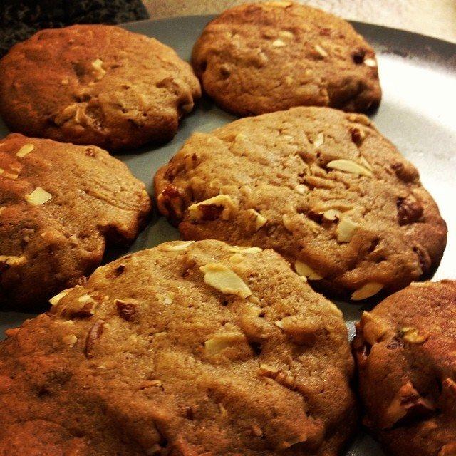 Pekaani-mantelicookiet