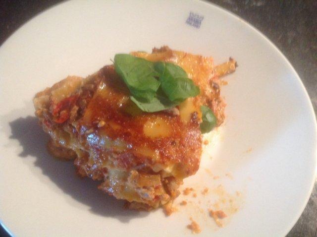 Maistuva lasagne 1