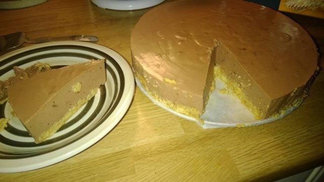 appelsiini-suklaajuustokakku 1