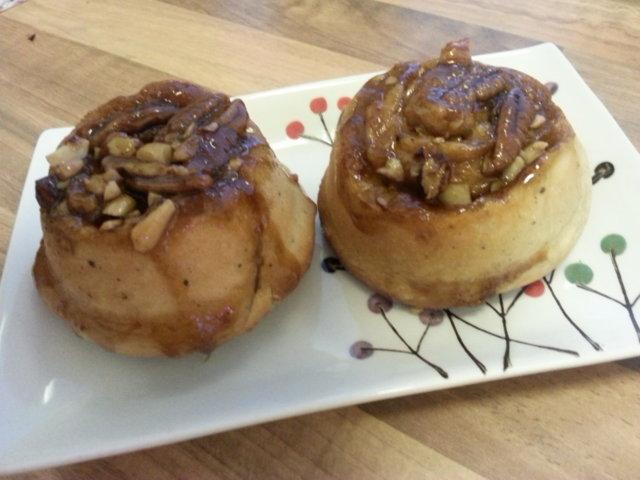 Sticky buns 1