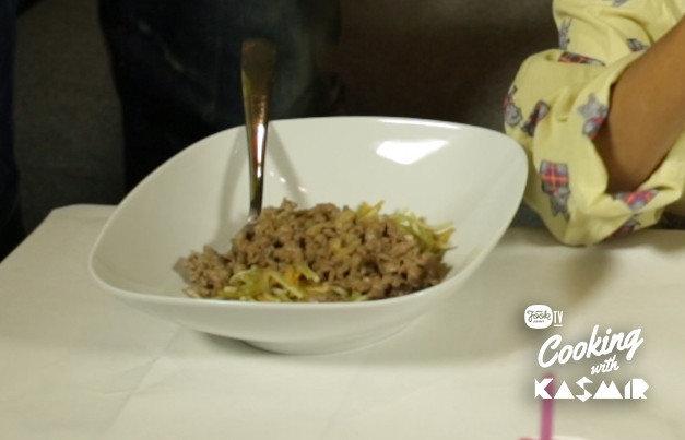 Reseptikuva: Kasmirin rakettispagetti 1