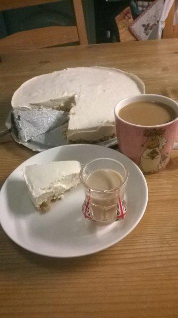 Reseptikuva: Baileys juustokakku 1