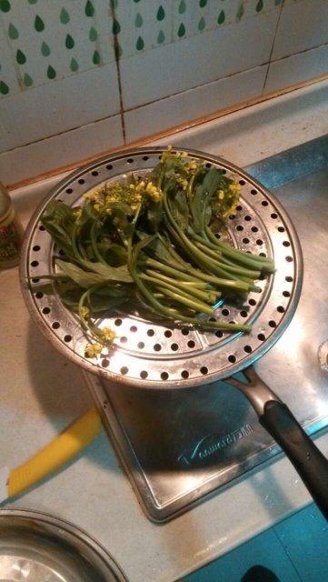 Höyrystetty parsa/vihreä kasvis balsamiviinietikalla 2