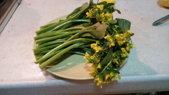 Höyrystetty parsa/vihreä kasvis balsamiviinietikalla 4